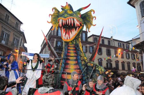Domenica 4 febbraio il 322° corso di gala del Carnevale di Ronciglione